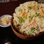 レストランばとう - 天ぷら(かき揚げ)うどん