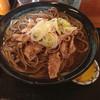 そば処 一庵 - 料理写真:肉そば 650円