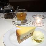 65819004 - リンゴ入りチーズ・ケーキ