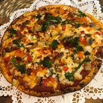 レストランITOSHIMA - 糸島野菜のピザ 1700円(税抜き)