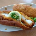 ピエモンテ - 料理写真:イカフライ、きな粉揚げパン