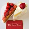 アラボンヌー - 料理写真:いちごのケーキたち♡