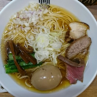 竹末東京プレミアム - 料理写真:醤油そば