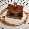 Cafe'Dior by Pierre Herme' - 料理写真:クルスティアンクロッカン ショコラ オレ エ ノワゼット