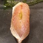 不動前 すし 岩澤 - 春子鯛