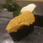 不動前 すし 岩澤 - キタムラサキウニ
