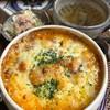 カフェ・ド・ジーノ - 料理写真:ミートドリア 熱いです