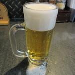 ひむろ - 生ビール 250円