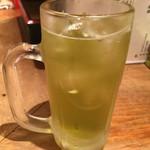 あぶさん - 緑茶割り