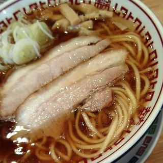 肉中華そばムタヒロ - 料理写真:2017年4月・肉中華そば750円