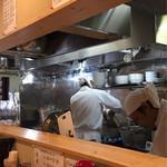 大和 - テボザルで茹で平手ザルで湯切りしてました何故?
