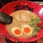 ラー麺 ずんどう屋 - 【味玉らーめん】¥850