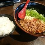 山椒家 - ごはんと汁なし担々麺