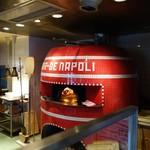 MAR-DE NAPOLI - (2017/2月)店内(ピザ釜)撮影許可済