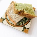 リストランテ・ジャニコロ・ジョウキ - ランチにはパンも2切れ