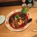 金沢まいもん寿司 珠姫 - なめら兜煮、大きい。