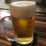 お好み焼 きじ - ビール680円