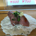 飛騨 こって牛 - 炙り600円