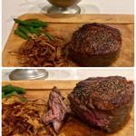 ピーコック - 料理写真:ボンバー(ランプ250g、ライス付) 1500円