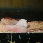 ふみやお好み焼き - きも玉やきを作る時のラード