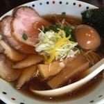 らー麺 あけどや - あけどや(特製)香味醤油らー麺