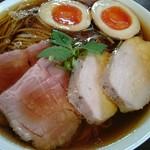 らぁ麺 紫陽花 - 特製醤油らぁ麺、大盛