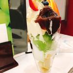 ムラハタ フルーツ パーラー - 和風パフェ620円