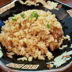 金澤濃厚中華そば 神仙 - セットの炒飯