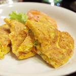 アプサラ レストラン&バー - スリランカのオムレツ(600円・外税)