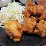 龍盛菜館 - 若鶏の唐揚げ