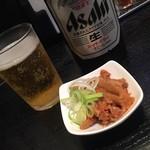 大勝軒まるいち - ビールとツマミ