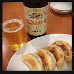 四川麻辣火鍋 天府 - 餃子&ビール