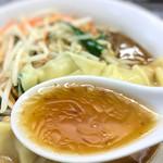 喜楽 - このスープ、旨いです。