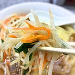 喜楽 - シャキシャキの野菜