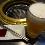 焼肉 黄金の牛 - ドリンク写真: