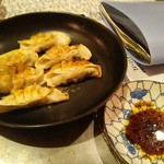 神戸 こも亭 - 野菜餃子450円
