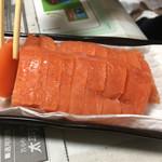 中国料理 布袋 - マスのお刺身を頂いたのでした♪