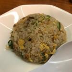 らー麺藤平 - 半炒飯