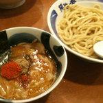 麺や葵 - 辛しつけ麺