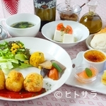 カフェ バラード - 手づくりスイーツと選べるメインディッシュの『デザートコース』