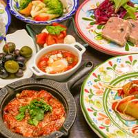 イタリア・フランス・スペインの家庭の味をご堪能