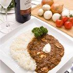 クォータートーン - 料理写真:自慢のハヤシライス