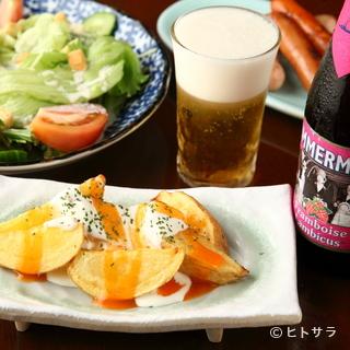 生ビールからクラフトビールまで、様々なビールを楽しめます