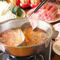 【女子会】ヘルシー薬膳料理:火鍋!!2380円より♪