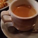 トラットリア&カフェ プリモ - 食後のコーヒー