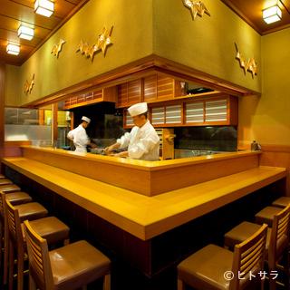 「口説きの場」の最高峰、銀座の寿司店で記憶に残るデートを