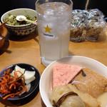 平澤かまぼこ - 料理写真:おでん&お通し&レモンサワー