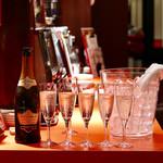 ワイン食堂 ビストロQ - ブロセッコ トレヴィーゾ(コース予約のサービス)
