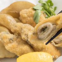 麦酒庵 - ジュワッと旨味が溢れる『オイスターフライとチップス(大)』
