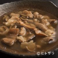 麦酒庵 - さっぱりとした味わいが絶品!『出汁仕立てのモツ煮』